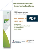 3rd Annual Current Trends in Liver Disease - September 26 2014
