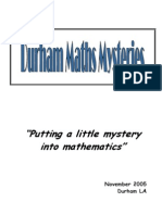 Durham Maths Mysteries ([PDF]