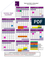 fdk  2014 - 2015 colour calendar