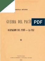 Ocupación del Perú - La Paz, Gonzalo Bulnes