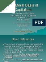 The Moral Basis of Capitalism - Dr Paul Prentice