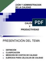PRODUCTIVIDAD TEMA 3 COSTOS DE CALIDAD.ppt