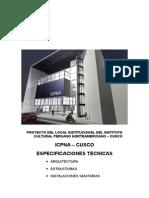 ESPECIFICACIONES TECNICAS - ICPNA.doc