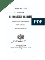 Partes oficiales de las batallas de Chorrillos I Miraflores - Manuel Jesús Basquedano González