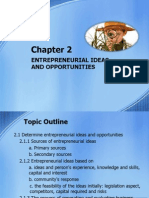 Chapter 2 Entrepreneurial Ideas