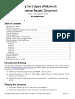 Workbench Tutorial Companion Document (1)