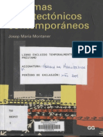 Montaner - Sistemas Arquitectonicos Contemporáneos.pdf