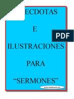 Anecdotas e Ilustraciones Para Sermones-manual