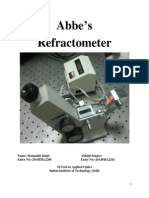 Abbe's Refractometer