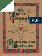 The Mystic Triangle, April 1929