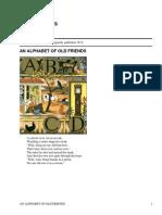 An Alphabet of Old Friends by Crane, Walter, 1845-1915
