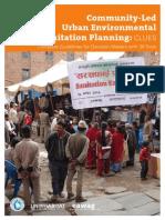 Community-Led Urban Environmental Sanitation Planning