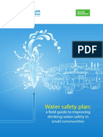 WHO Water Safety Plan