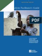 Barrier Analysis Facilitator's Training Guide