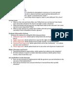 ESR - Ethical Frameworks