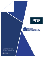 Butler University's sustainability and climate action plan