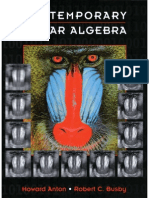 (Book) Contemporary Linear Algebra by Howard Anton, Robert C. Busby