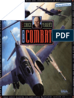 Chuck Yeagers Air Combat - Manual - PC