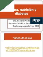 Cultura, nutrición y diabetes agosto 9 2012.pptx