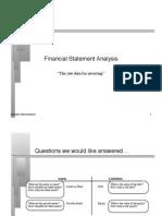 Money Statement Analysis
