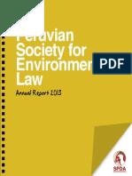 SPDA - Annual Report 2013