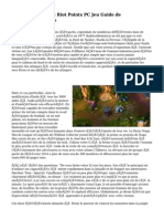 League Of Legends Riot Points PC Jeu  Guide de StratAfA�gie