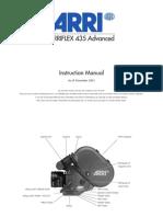 ARRIFLEX 435 Advanced_Instruction Manual