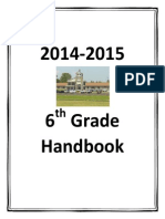 2014 student handbook revised