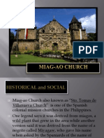 Arhist4 - Miag-Ao Church Report