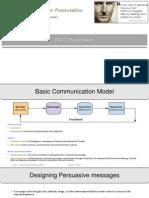 Persuading Consumers- Consumer Behavior