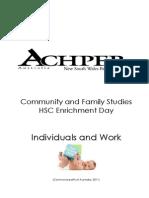 indiciduals and work student workbook 2011