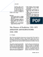 Futures Volume 3 Issue 1 1971 [Doi 10.1016%2Fs0016-3287%2871%2980009-5] I.F. Clarke -- The Pattern of Prediction 1763–1973 Anxious Anticipations- 1918–1939