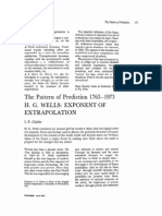 Futures Volume 2 Issue 2 1970 [Doi 10.1016%2Fs0016-3287%2870%2980011-8] I.F. Clarke -- The Pattern of Prediction 1763-1973- H. G. Wells- Exponent of Extrapolation