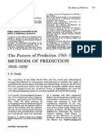Futures Volume 2 Issue 4 1970 [Doi 10.1016%2F0016-3287%2870%2990052-2] I.F. Clarke -- The Pattern of Prediction 1763–1973- Methods of Prediction 1918–1939