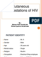 Cutaneous Manifestations of HIV