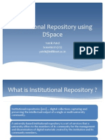 ir using dspace