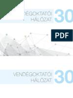 Vendégoktatói hálózat 30