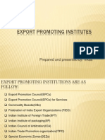 Export Promoting Institutes