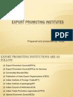 Export Promoting Institutes