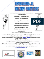 Manchester Harriers Primary School League 2014-15