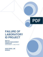 BEN610_Failure of Laboratory ID Project_1
