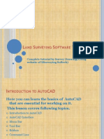 Land Surveying Software(AutoCAD) Tutorial