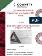 Samouczek Excel - Funkcje Inżynierskie.pptx