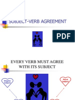 subject verb agreement slideshow