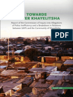 Khayelitsha Commission Report