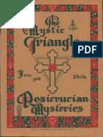 The Mystic Triangle, June 1928