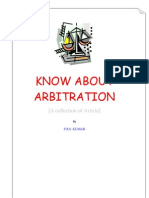 Know About Arbitration