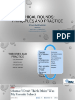 Ethical rounds