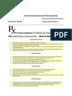 GRCC Exercise is Medicine Prescription Document