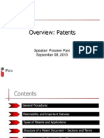 Overview of Patents